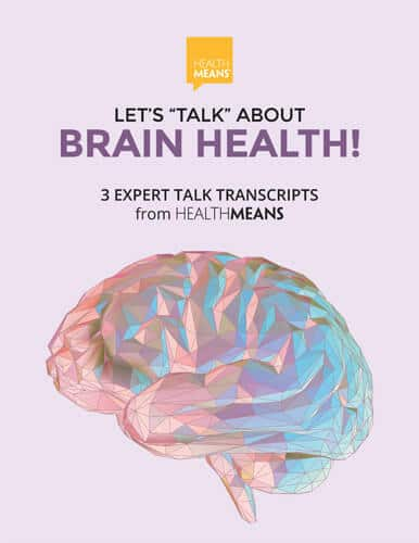 """image """"Lets Talk About Brain Health"""" ebook"""