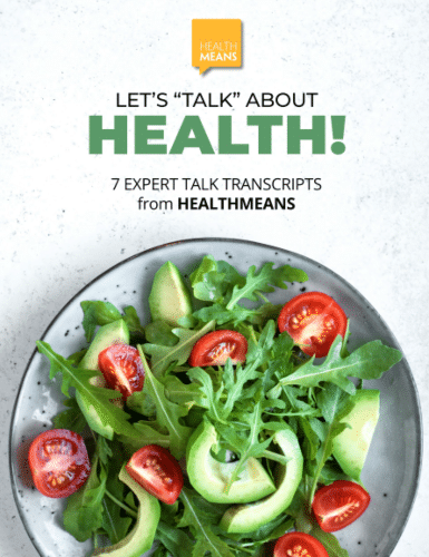 """image of transcripts """"Let's Talk About Health"""""""