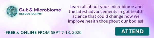 """banner """"Attend the Gut & Microbiome Rescue Summit"""""""