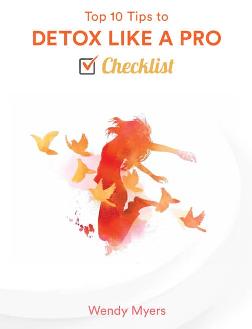 "Image ""DETOX LIKE A PRO"" checklist"