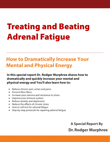 """Image """"Treating and Beating Adrenal Fatigue"""" eReport"""