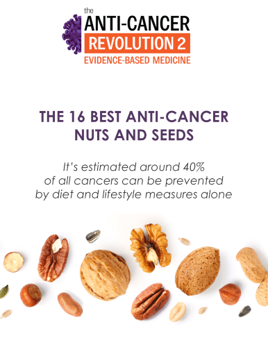 """Image """"The 16 Best Anti-Cancer Nuts and Seeds"""" eGuide"""
