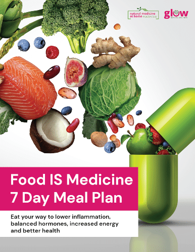 "eBook Image ""Food IS Medicine 7 Day Meal Plan"""