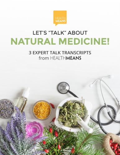 """Image eTranscript """"Let's Talk About Natural Medicine"""""""