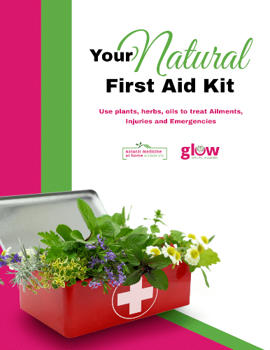 """eBook Image """"Your Natural First Aid Kit"""""""