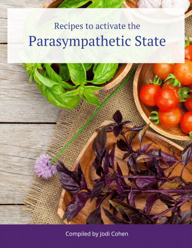 """Image """"Recipes to activate the Parasympathetic State"""" eBook"""