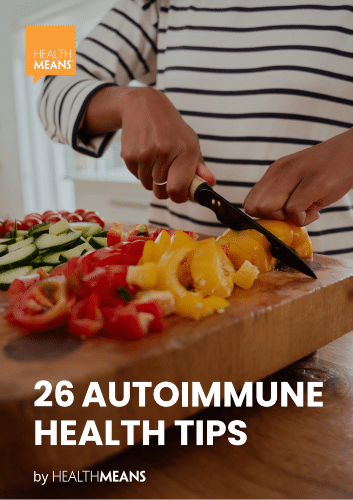 """""""26 Autoimmune Health Tips"""" eBook"""