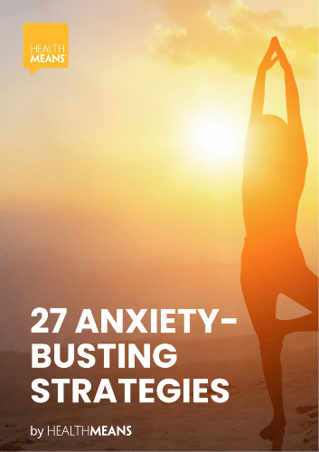 """""""27 Anxiety-Busting Strategies"""" eBook"""