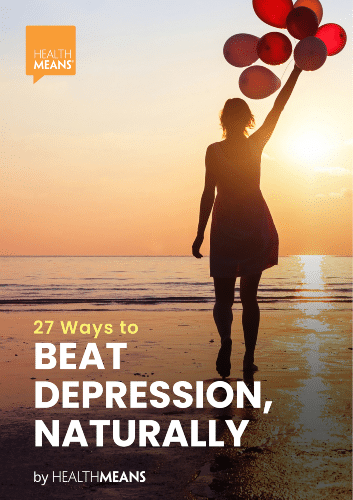 """27 Ways to Beat Depression, Naturally"" eBook"