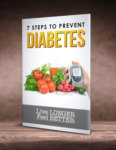 """7 Steps to Prevent Diabetes"" eBook"