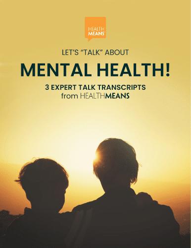 """Lets Talk About Mental Health"" transcripts"