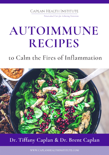 """""""Autoimmune Recipes to Calm the Fires of Inflammation"""" eBook"""