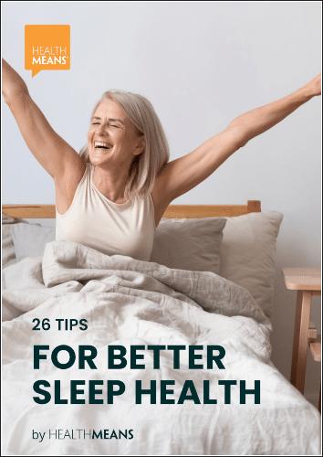 """26 Tips for Better Sleep Health"" eBook"