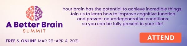 Attend A Better Brain Summit baner
