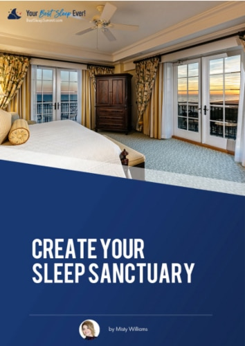 """Create Your Sleep Sanctuary"" eGuide"