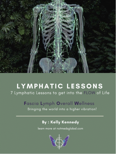 """""""Lymphatic Lessons: 7 Lessons to get into the FLOW of Life"""" eBook"""