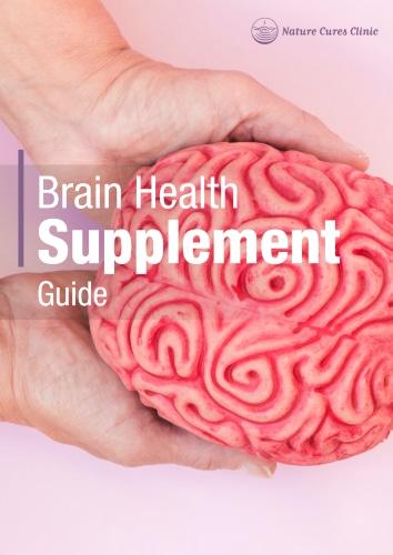 """""""Brain Health Supplement"""" eGuide"""
