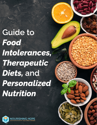 """""""Guide to Food Intolerances, Therapeutic Diets and Personalized Nutrition"""" eGuide"""