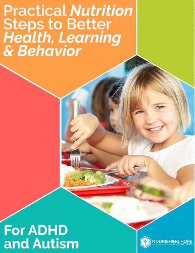 """Practical Nutrition Steps to Better Health, Learning & Behavior"" eGuide"