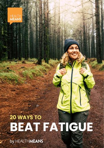 """20 Ways to Beat Fatigue"" eBook"