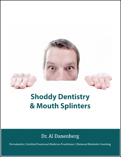 """Image: """"11 Types of Shoddy Dentistry & Mouth Splinters"""" eGuide"""