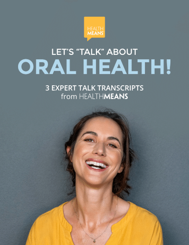 """Image: """"Lets Talk About Oral Health"""" transcripts"""