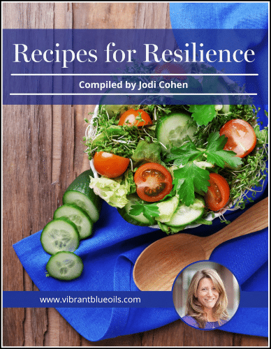 """""""Recipes for Resilience"""" cookbook"""